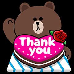 ThankYou!LINE卡通明星