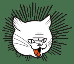 I am a cat. sticker #53046