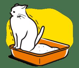 I am a cat. sticker #53077
