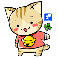 SUZU-NYAN sticker(English version)