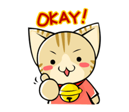 SUZU-NYAN sticker(English version) sticker #53846