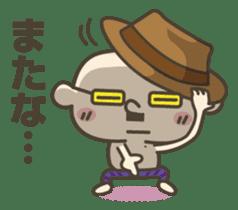 Onion uncle sticker #53901