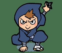 Ninja Newbies Ken & Shuri sticker #53959