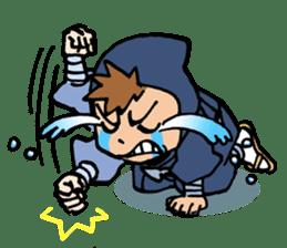 Ninja Newbies Ken & Shuri sticker #53973