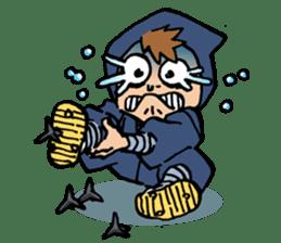 Ninja Newbies Ken & Shuri sticker #53980