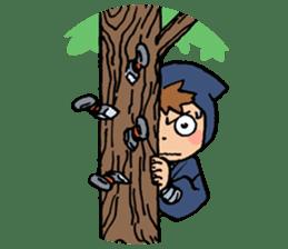 Ninja Newbies Ken & Shuri sticker #53989