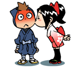 Ninja Newbies Ken & Shuri sticker #53994