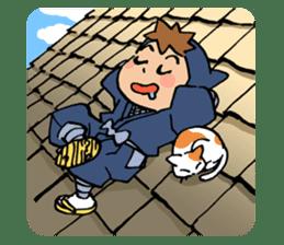 Ninja Newbies Ken & Shuri sticker #53997