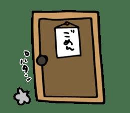 Shiroi-Hito & Chikubi-neko sticker #54331