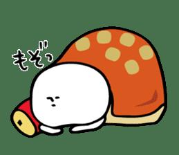 Shiroi-Hito & Chikubi-neko sticker #54339