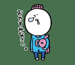 Shiroi-Hito & Chikubi-neko sticker #54345