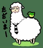 Creepy Funny Alpaca sticker #54703