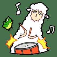 Creepy Funny Alpaca sticker #54713