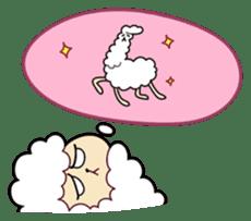 Creepy Funny Alpaca sticker #54714