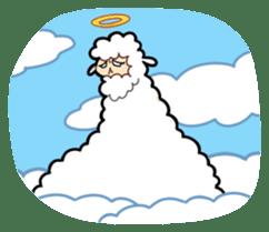 Creepy Funny Alpaca sticker #54733