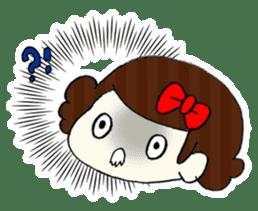 Ribbon-chan! Full stamp (sticker style) sticker #54903
