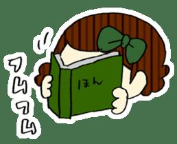 Ribbon-chan! Full stamp (sticker style) sticker #54909