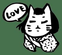 Expressive Cats sticker #55774