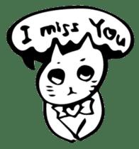 Expressive Cats sticker #55781