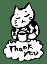 Expressive Cats sticker #55784