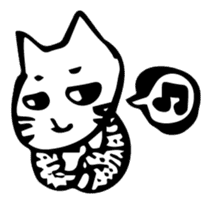 Expressive Cats sticker #55786