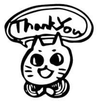 Expressive Cats sticker #55792