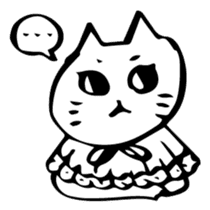 Expressive Cats sticker #55793