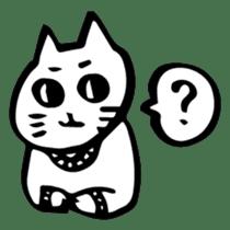 Expressive Cats sticker #55795