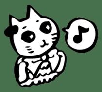 Expressive Cats sticker #55796