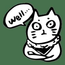Expressive Cats sticker #55797