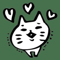 Expressive Cats sticker #55801