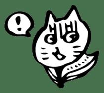 Expressive Cats sticker #55803