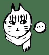 Expressive Cats sticker #55807