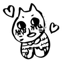 Expressive Cats sticker #55810