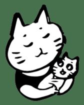 Expressive Cats sticker #55813