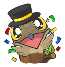 LOVELY POTOO sticker #56615