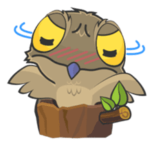 LOVELY POTOO sticker #56619
