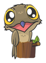 LOVELY POTOO sticker #56624