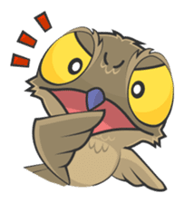 LOVELY POTOO sticker #56628