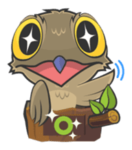 LOVELY POTOO sticker #56631