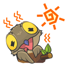 LOVELY POTOO sticker #56640