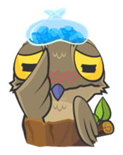 LOVELY POTOO sticker #56646