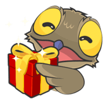 LOVELY POTOO sticker #56647