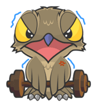 LOVELY POTOO sticker #56651