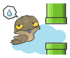 LOVELY POTOO sticker #56652