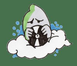 mokumoku-kun sticker #56744