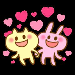 "Pleasant friends with ""Pyokotan"""