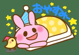 "Pleasant friends with ""Pyokotan"" sticker #56977"