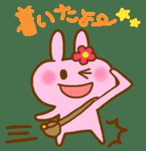 "Pleasant friends with ""Pyokotan"" sticker #56990"