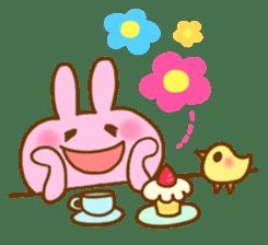 "Pleasant friends with ""Pyokotan"" sticker #57002"